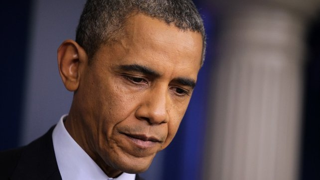Barack Obama is willing to negotiate on broad budget issues if shutdown ends