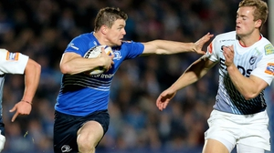 Brian O'Driscoll is rated doubtful for Leinster's tie with Ospreys
