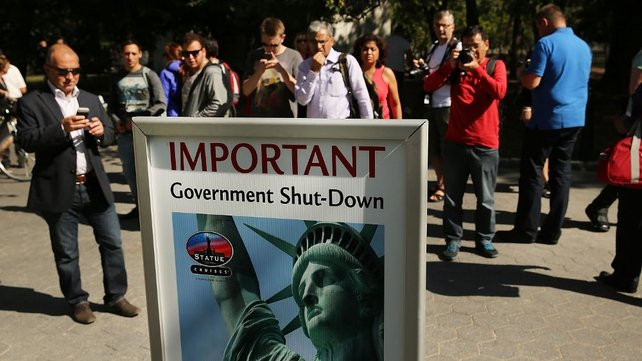 The shutdown has closed tourist sites and national parks across the US