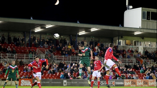 The powerful Ciarán Kilduff devastated Shelbourne at Turner's Cross, scoring four of Cork City's five goals