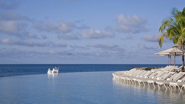 Spectacular beach area