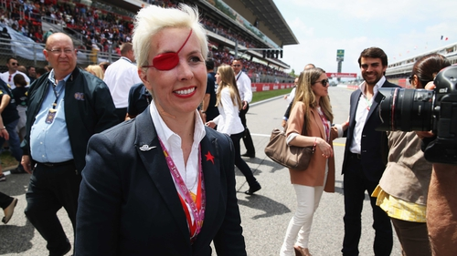 Last year Maria De Villota was involved in a freak accident at Duxford Aerodrome that resulted in her losing her right eye
