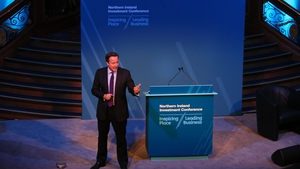 David Cameron made no apology for being a salesman for Northern Ireland during his speech to delegates