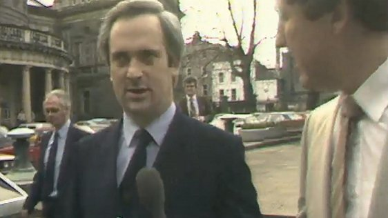 Minister for Finance, John Bruton, 27 January, 1982.