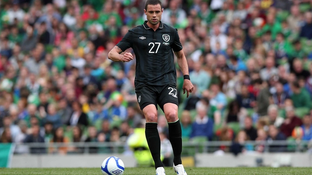 Cork native Damien Delaney could win an eighth cap against Germany