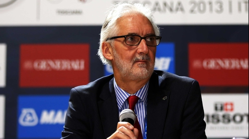 Brian Cookson: 'These early days are very important for the UCI'