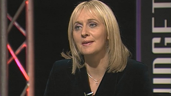 Miriam O'Callaghan on Prime Time on 1 December, 1999.