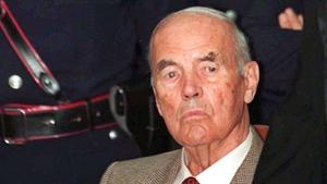 Erich Priebke was under house arrest in Italy when he died last week aged 100