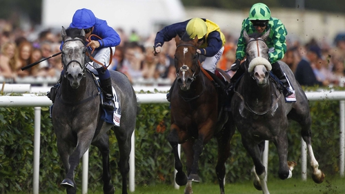 Outstrip was a three-length winner of last month's Champagne Stakes at Doncaster