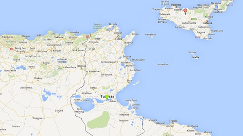 Dozens of people died after the boat capsized (Pic: Google Maps)