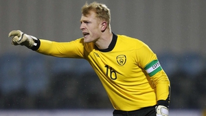 Aaron McCarey was a colossus in the Ireland goal