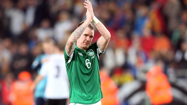 Glenn Whelan: 'Come Tuesday we would love him to let the reins off a little bit and go out on a high against Kazakhstan'