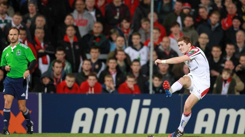 Paddy Jackson kicked 17 points and set up Tommy Bowe's try