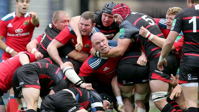 Munster must recover from a shock defeat to Edinburgh in round one
