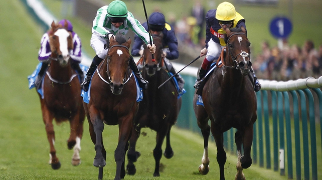 Cable Bay's (cross-noseband) best performance last season came when chasing home War Command in the Dewhurst Stakes at Newmarket