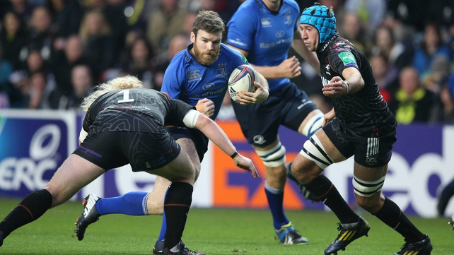 Gordon D'Arcy has been named alongside Brendan Macken in the centre for Leinster