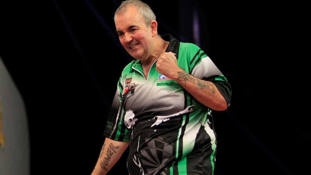 Phil Taylor: 'It will be a different type of game in the final because Dave's like another Gary Anderson - if you get him at his best, stay at home!' (Pic: Lawrence Lustig/PDC)