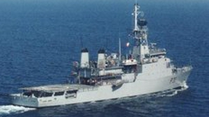 LÉ Eithne was one of two Navy ships involved in the foreign fishing vessels