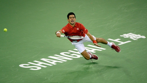 Novak Djokovic won the China Open in Beijing last weekend
