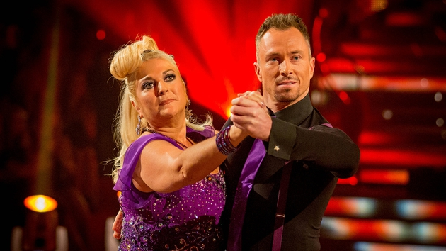 Feltz and Jordan - Lost out to Julien Macdonald and his professional partner Janette Manrara in the dance-off