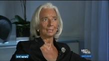 Lagarde warns over effects of US shutdown