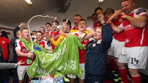 St Pat's won the league at Richmond Park last weekend