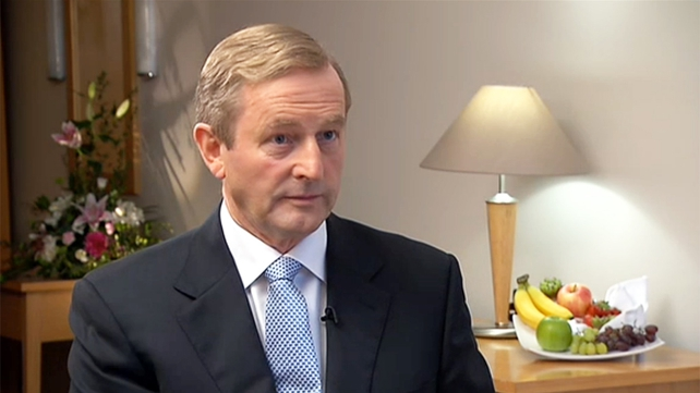 Enda Kenny said a response to the recommendation is likely in the next week