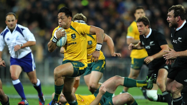Christian Lealiifano will miss Saturday's Bledisloe Cup clash in Dunedin