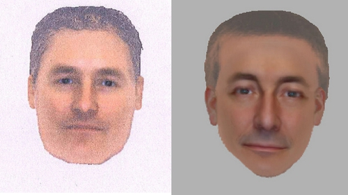 Two e-fit images have been released of a man of 'vital importance'