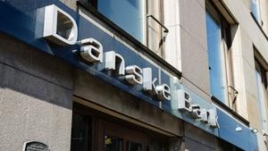 Danske Bank said its pretax profit fell to 6.20 billion Danish crowns in the first quarter from 7.14 billion crowns a year ago