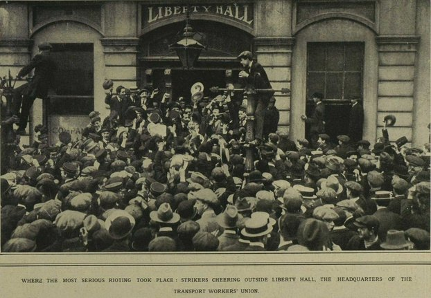 Liberty Hall 6 September 1913
