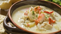 Arthurstown Fish Chowder - A quick, easy and delicious fish chowder from Kevin Dundon