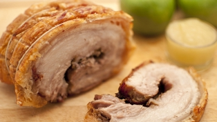 Slow Roasted Belly of Pork, Savoy Cabbage: Today