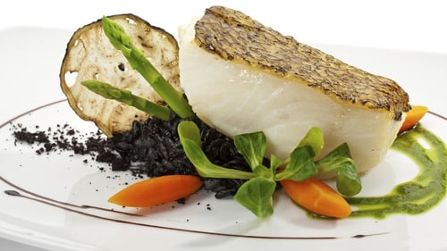 Catherine Fulvio's Pan-fried Sea Bass with Chilli and Ginger