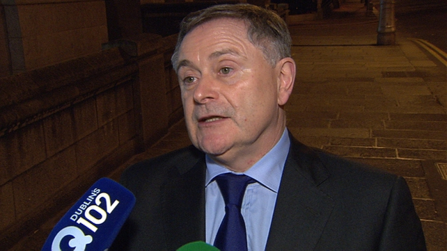 Brendan Howlin said he hoped there would be a few surprises tomorrow