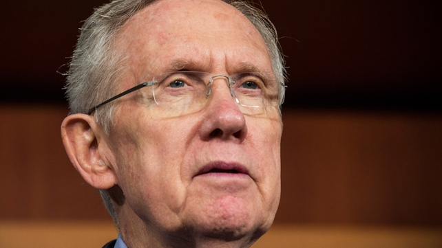 Harry Reid has voiced optimism that a deal could be finalised within days