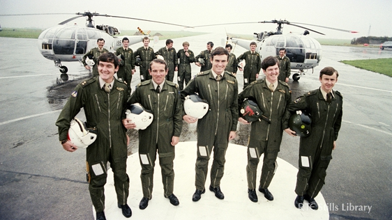 Irish Air Corps Officers And Crew Identified