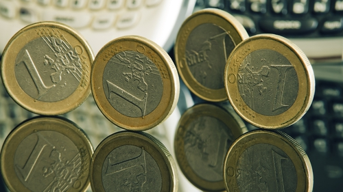 Euro zone inflation stood at 0.8% in December