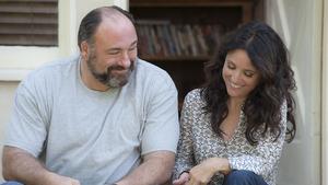 James Gandolfini and Julia Louis-Dreyfus star in Enough Said
