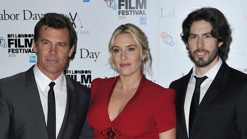 Winslet (with Labor Day co-star Josh Brolin (l) and director Jason Reitman (r) - New drama out on February 7