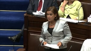 Mary Lou MacDonald described the Budget as 'another almighty wallop to the people'