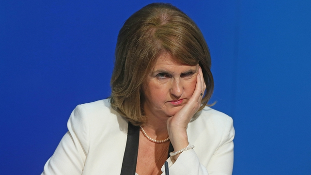 Joan Burton signalled there would be no new cuts to social welfare or education spending
