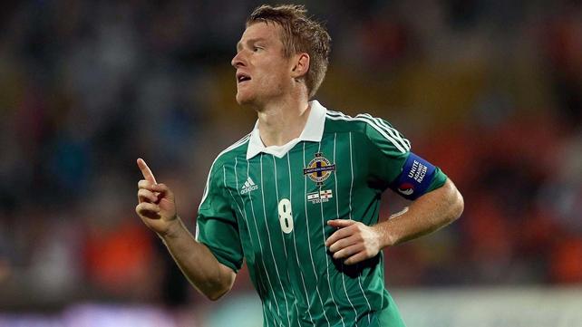 Steven Davis helped Northern Ireland to a 1-1 draw in Israel