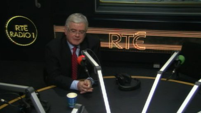 Tánaiste Eamon Gilmore said he did not accept that those less well-off were bearing the brunt of the hardship