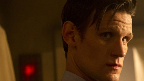 Matt Smith is one of three Timelords in The Day of the Doctor on BBC One