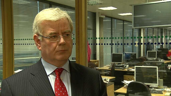 Eamon Gilmore said difficult decisions had to be taken in order to bring about recovery