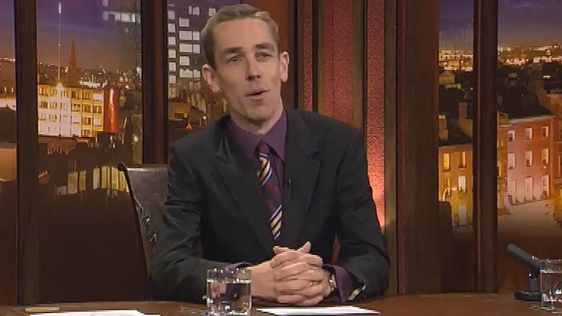 Ryan Tubridy on Tubridy Tonight 2004