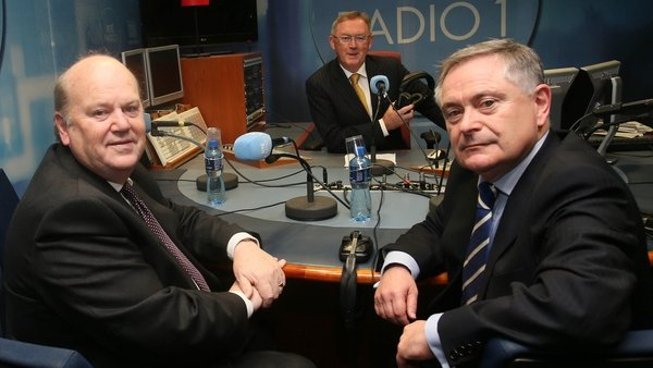 Brendan Howlin and Michael Noonan answered listeners' questions on RTÉ Radio