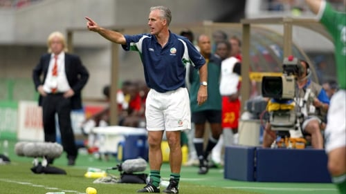 Mick McCarthy managed Ireland for six and a half years
