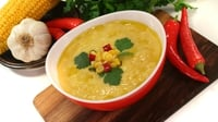 Creamy Corn, Carrot  & Mango Chowder  - Chef Paul Flynn cooks up this delightful dish using ingredients from Lidl.